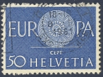 Sellos de Europa - Suiza -  Europa CEPT