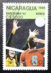 Stamps Nicaragua -  Barcelona ´92