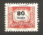 Sellos de Europa - Hungría -  cifra
