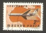 Stamps Hungary -  avión comercial, A-300 B