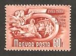 Sellos de Europa - Hungría -  Cooperativa agrícola