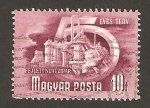 Stamps Hungary -  Industria