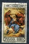 Stamps Panama -  velazquez-1640