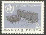 Sellos de Europa - Hungría -  Inauguración de la sede de Organización Mundial de la Salud, en Ginebra