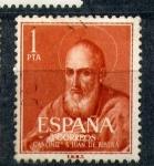 Stamps Spain -  cananización s. juan de ribera