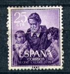 Stamps Europe - Spain -  S. Vicente de Paul- III centenario