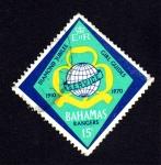 Stamps : America : Bahamas :  Diamond jubilee