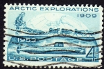 Stamps United States -  Artic Explorations