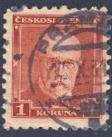 Stamps Czechoslovakia -  Tomáš Masaryk