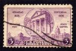 Stamps : America : United_States :  Centenario de Arkansas