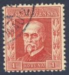 Sellos del Mundo : Europa : Checoslovaquia : Tomáš Masaryk