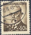Sellos de Europa - Checoslovaquia -  Tomáš Masaryk