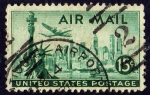 Stamps United States -  EEUU Air Mail - 2/2