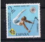 Sellos de Europa - España -  Edifil  2035  IX  Campeonato europeo de gimnasia masculina