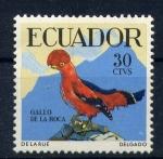Stamps of the world : Ecuador :  gallo de la roca