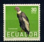Sellos de America - Ecuador -  Condor