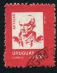 Sellos de America - Uruguay -  Artigas