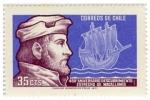 Stamps Chile -  450º Aniv Desc. Estrecho de Magallanes