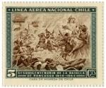 Stamps Chile -  Batalla de Rancagua