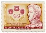 Sellos de America - Chile -  Homenaje Fuerzas Armadas