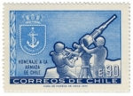 Stamps : America : Chile :  Homenaje Armada de Chile