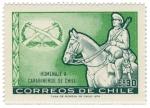 Sellos del Mundo : America : Chile : Homenaje Carabineros de Chile