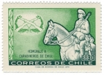 sellos de America - Chile -  Homenaje Carabineros de Chile