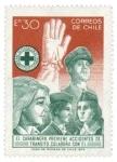 Stamps Chile -  Seguridad Tránsito