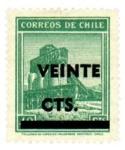 Stamps : America : Chile :  Cobre