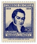 Stamps : America : Chile :  M. Rengifo