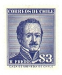 Stamps : America : Chile :  Presidente Ramón Freire