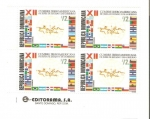 Stamps Dominican Republic -  XII Cumbre Ibero Americana De Jefes de Estado
