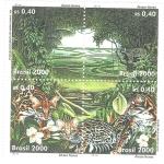 Sellos del Mundo : America : Brasil : Estacion Ecologica de Anavilhanas, Scott # 2752