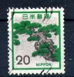 Stamps Japan -  rama de árbol