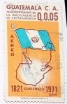 sellos de America - Guatemala -  Sesquicentenario de La Independencia de Centroamerica