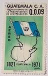 Stamps America - Guatemala -  Sesquicentenario de La Independencia de Centroamerica