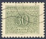 Sellos de Europa - Checoslovaquia -  valor