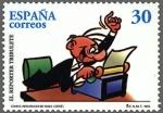 Sellos de Europa - España -  ESPAÑA 1996 3436 Sello Nuevo Comics Personajes Tebeo El Reporter Tribulete MNH 30p