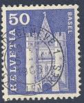Sellos de Europa - Suiza -  Iglesias - Basel