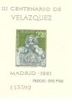 Stamps Spain -  La Infanta Margarita, Scott # 985a