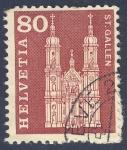 Stamps Switzerland -  Iglesias - St Gallen