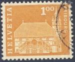 Stamps Switzerland -  Iglesias - Friburg