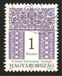 Stamps of the world : Hungary :  Motivo decoracion folklórica