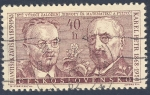 Stamps Europe - Czechoslovakia -  Frantisek Zaviska 1879-1945 Karel Petr 1869-1950