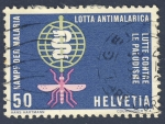 Stamps Switzerland -  lucha contra la malaria