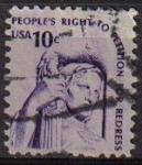 Sellos de America - Estados Unidos -  USA 1977 Scott 1592 Sello Elecciones Derechos del pueblo usado