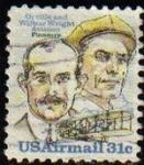 Stamps United States -  USA 1978 Scott C91 Sello Pioneros Aviacion Hermanos Wright usado