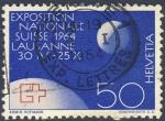 Stamps Switzerland -  Exposicion Nacional Suiza 1964  Lausanne  30 IV- 25 X