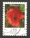 Sellos de Europa - Alemania -  flora, klatschmohn