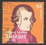 Stamps Germany -  wolfgang amadeus mozart